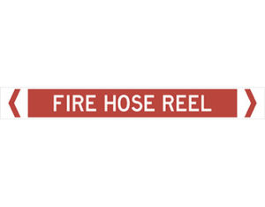 fire hose reel pipe marker