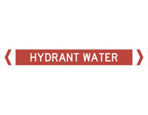 hydrant water pipe marker