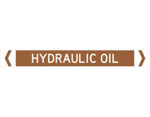 hydraulic oil pipe marker