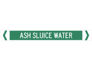 ash sluice water