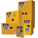 Safety cabinets - oxidising agents