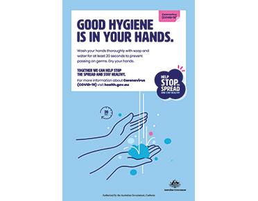 Coronavirus handwashing sign