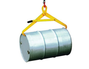 Forklift drum lifter tongs