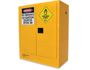 160L oxidising agent safety cabinet
