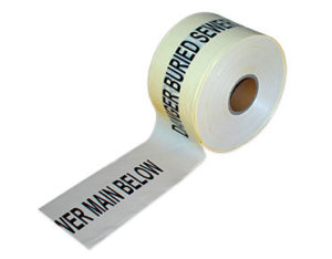 buried underground tape
