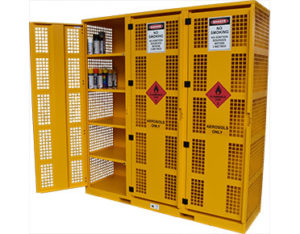 Large aerosol cage - storage for up to 960 cans