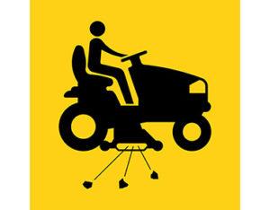 Mowing symbol