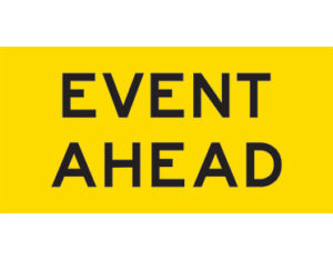 Event ahead