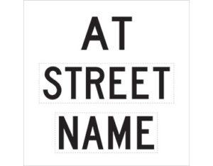 street name sign